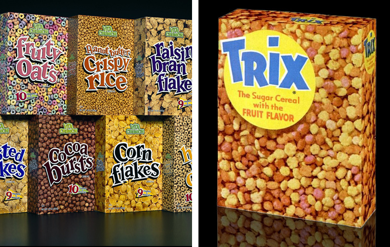 trix cereal ethos pathos logos in advertising